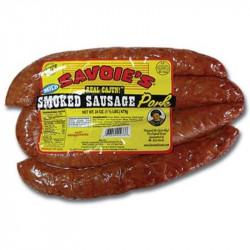 Savoie's Smoked Mild Pork Sausage 24oz