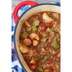 King Creole Seafood & Sausage Gumbo 4lb