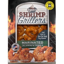 Shrimp Grillers Jalapeno & Tequila 9.5oz