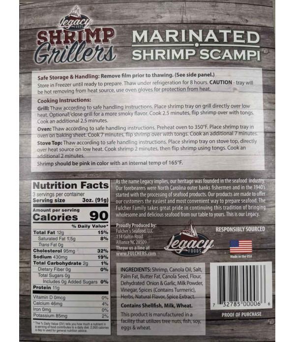 Shrimp Grillers Shrimp Scampi 9.5oz
