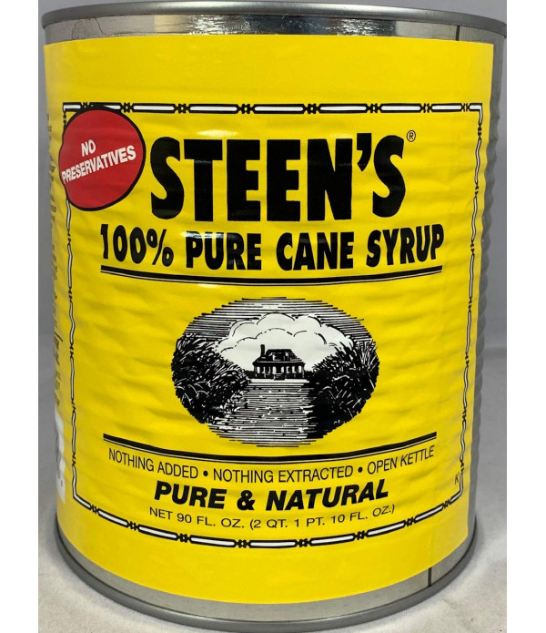Steen's Pure Cane Syrup 90oz Can