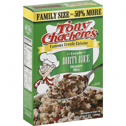 Tony Chachere's Dirty Rice Dinner (Family Size) 12...