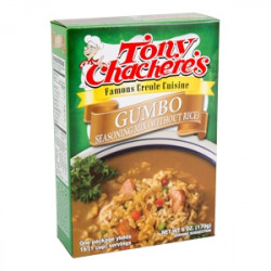 Tony Chachere's Gumbo Seasoning Mix (no rice) 6oz