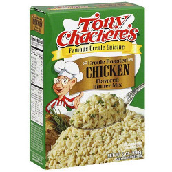Tony Chachere's Roasted Chicken Rice Mix 7oz
