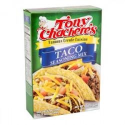 Tony Chachere's Taco Seasoning Mix 9oz