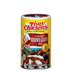 Tony Chachere's Instant Brown Gravy Mix 5oz