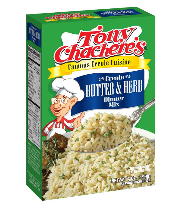 Tony Chachere's Butter & Herb Rice Mix 7oz