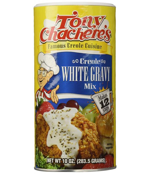 Tony Chachere's Instant White Gravy Mix 10oz