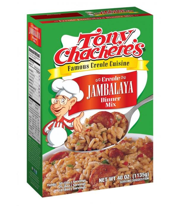 Tony Chachere's Jambalaya Rice Dinner 40oz