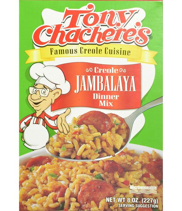 Tony Chachere's Creole Jambalaya Dinner Mix 8oz