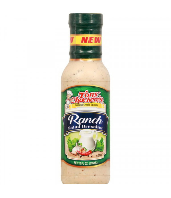 Tony Chachere's Ranch Salad Dressing 12oz