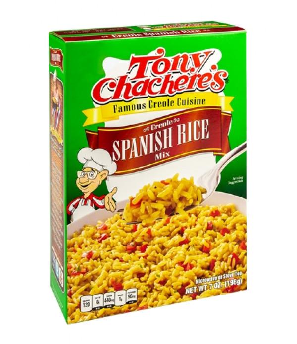 Tony Chachere's Spanish Rice Mix 7oz