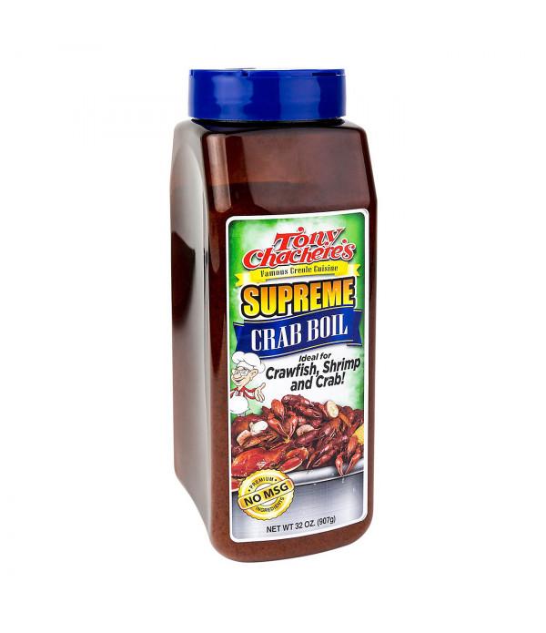 Tony Chachere's Supreme Crab Boil 32oz