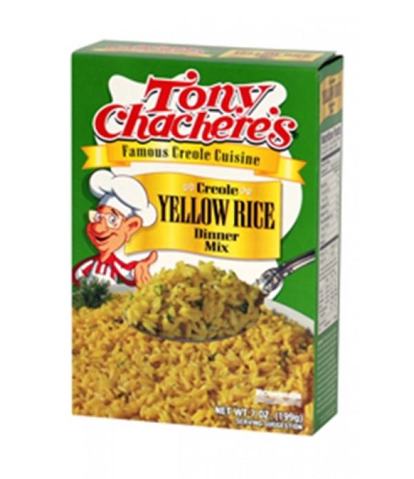 Tony Chachere's Yellow Rice Mix 7oz