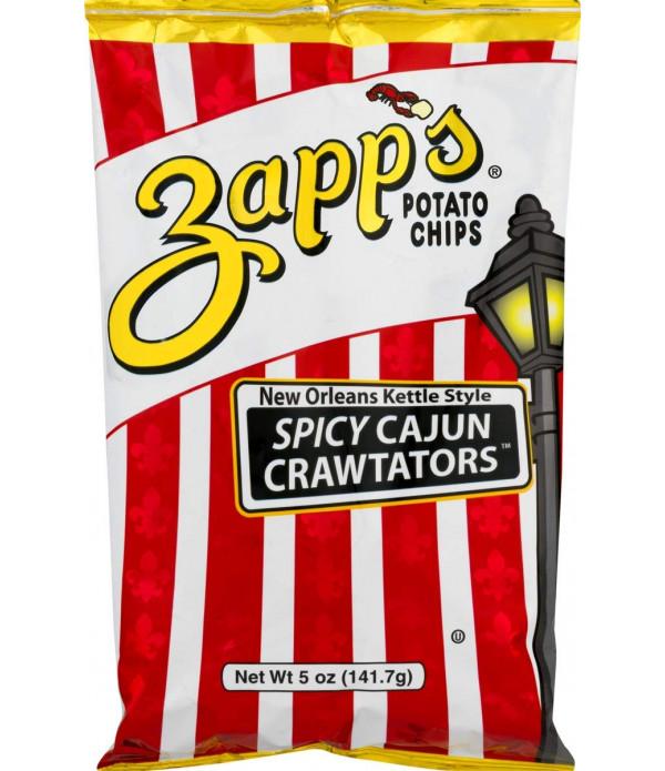 Zapp's Cajun Crawtator Chips 5oz