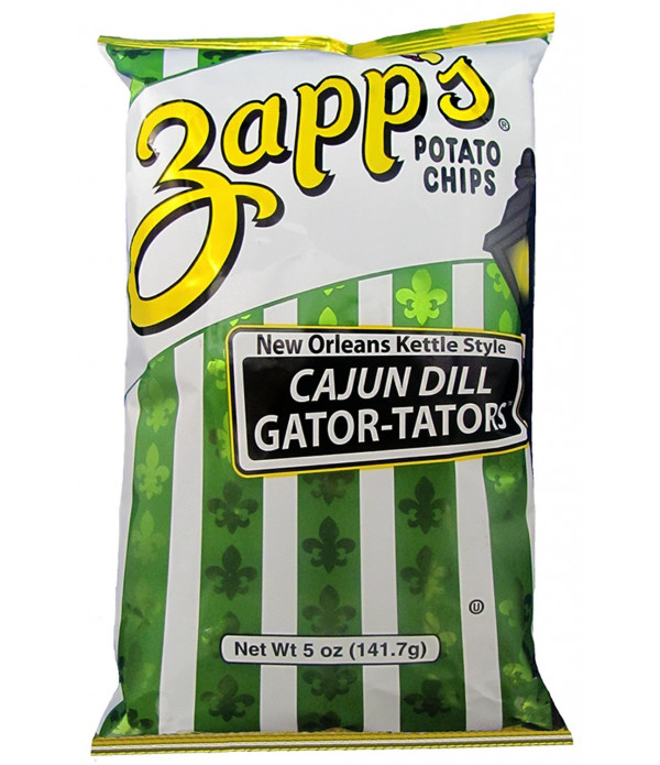Zapp's Dill Gator Chips 5oz