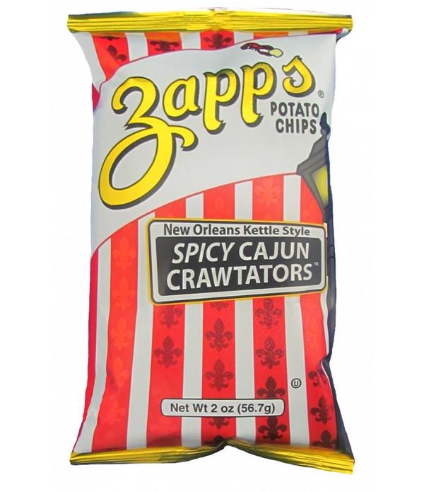 Zapp's Cajun Crawtator Chips 2oz