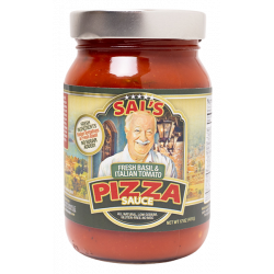 Sal & Judy Fresh Basil and Italian Tomato Pizz...