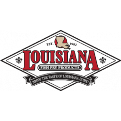 Louisiana Fish Fry Corn Flour 25lb