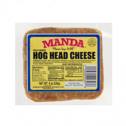 Manda Hog Head Cheese Mild 8oz